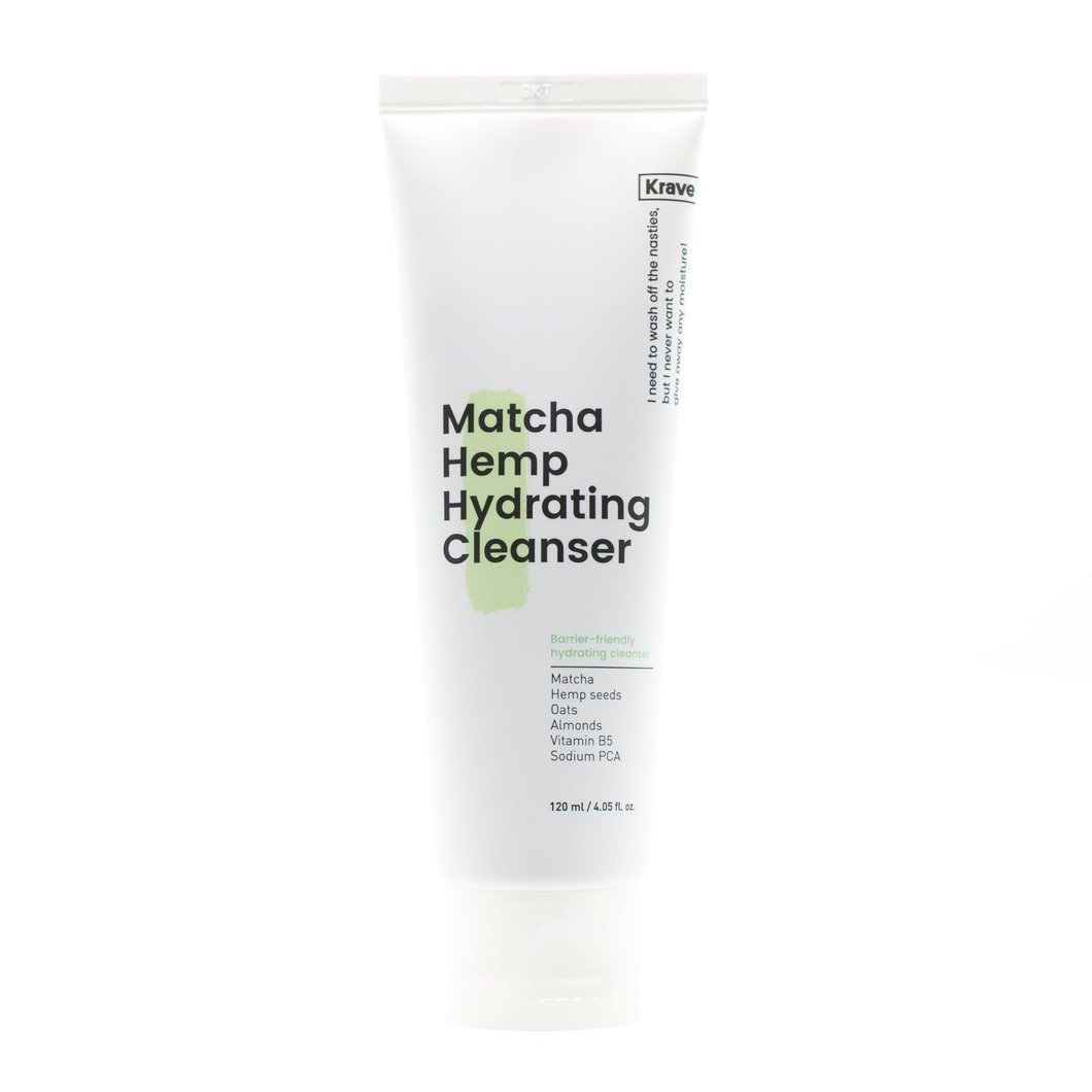 Krave Matcha Hemp Hydrating Cleanser