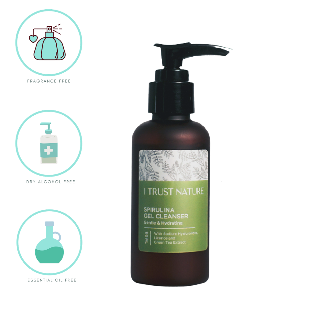 I Trust Nature Spirulina Gel Cleanser